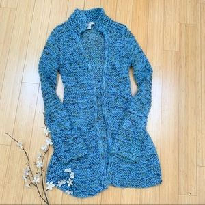 FREE PEOPLE long cardigan sweater duster, M.